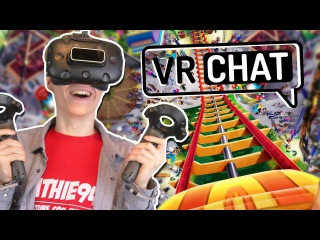 HOW TO GET MOTION SICK IN VIRTUAL REALITY! | VRChat (HTC Vive Gameplay)