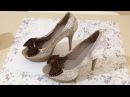 Como Customizar Sapato Salto Alto Velho - Artesanato DIY
