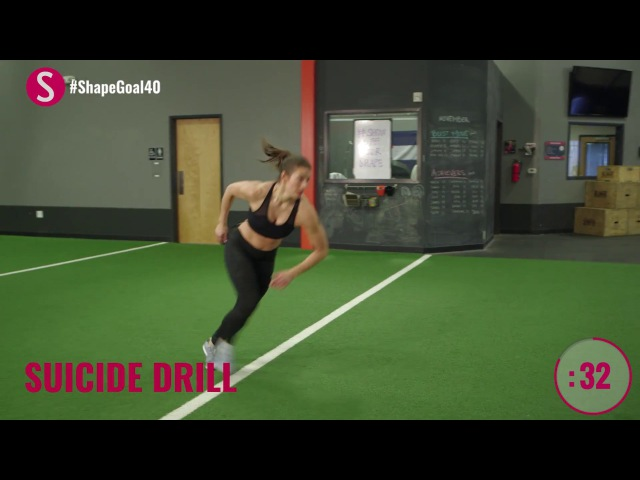 3-Minute Cardio Burn | CrushYourGoals with Jen Widerstrom | SHAPE