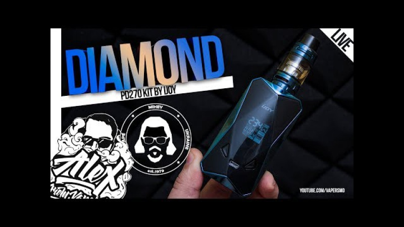 Diamond PD270 Kit l by iJOY l Alex VapersMD Mihey review 🚭🔞