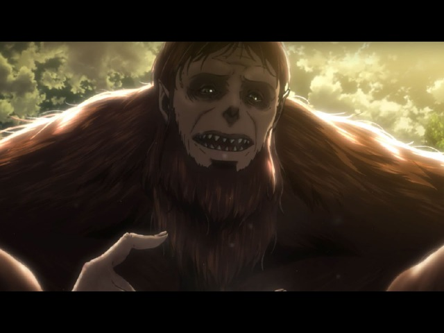 Beast Titan first appearance Mike Zacharias death - Attack on Titan Season 2