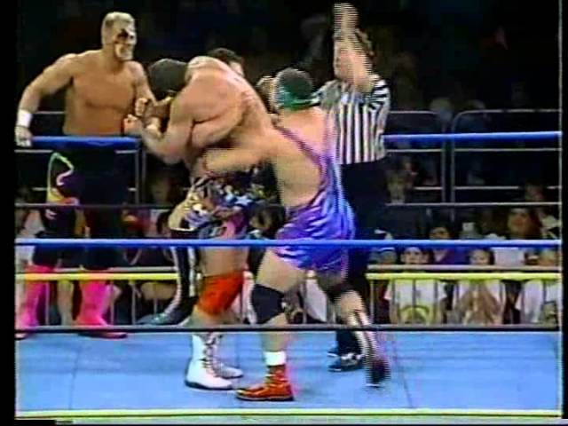 Sting and The Steiners vs. Rick Rude/Arn Anderson/Bobby Eaton (10-03-1992)
