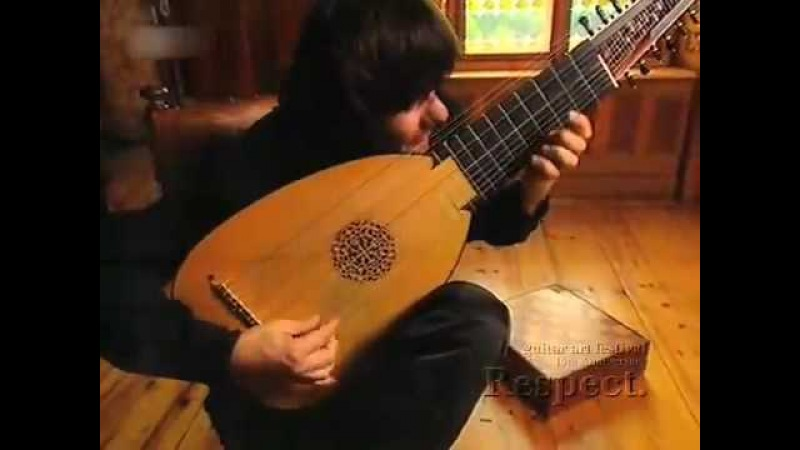 Edin Karamazov (Lute) plays J.S.Bach -- Toccata Fugue (part 1) v2