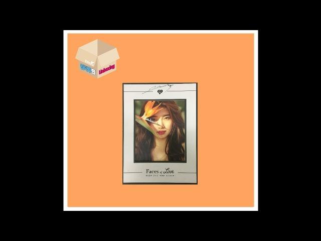 1theK Unboxing(원덕후의언박싱): Suzy(수지) _ 2nd Mini Album 'Faces of Love'