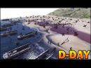 [HISTORICAL] D-DAY OMAHA BEACH LANDING - Saving Private Ryan - Men of War AS2 Editor Scenario 90
