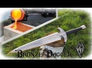 Casting a Bronze Dagger From The Game Skyrim (Valdr's Lucky Dagger)