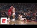 All the best reactions to James Harden's nasty cross of Wesley Johnson | SportsCenter | ESPN