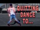 QUITTING DANCE... (blame Shaun White)