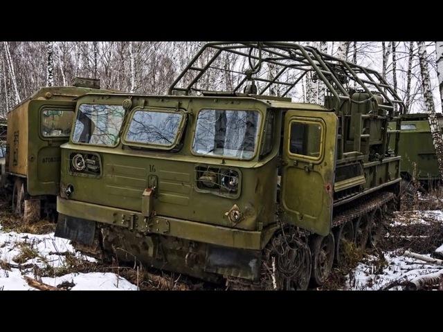 заброшенная техника , куча техники⁄ ГАЗ-66.ЗИЛ.КАМАЗ