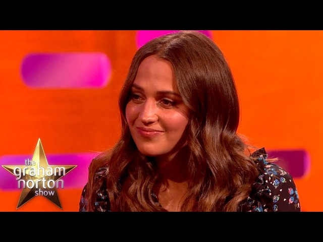 "Alicia Vikander ""My Breasts Are Not As Pointy As The First Lara Croft"" 