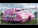 MAUS Hello Kitty against NOOBS • KOLOBANOV'S Medal • WoT Gameplay