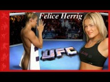 UFC Girl Felice Herrig In and Out of The Ring