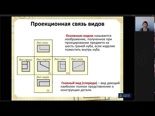 Лекция 2. Виды | Инженерная графика | ОмГТУ | Лекториум