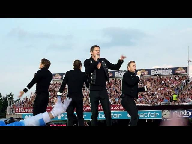TAKE THAT THE CIRCUS TOUR LIVE OLD TRAFFORD LCCC GREATEST DAY 28 JUNE 2009