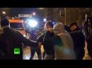 13 марта 2014 Донецк Столкновения между участниками митингов в поддержку и против России в Донецке