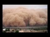 Сильнейшая пыльная буря в селе Георгиевка (Калбатау), Казахстан 17.07.2017 (очень страшно)