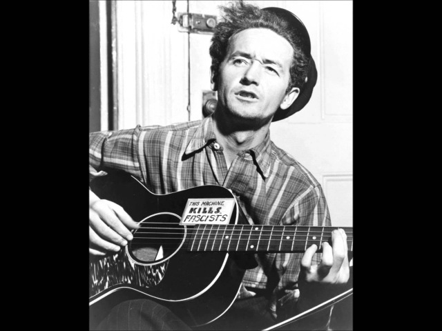 Woody Guthrie - Riding in My Car (Car Song)