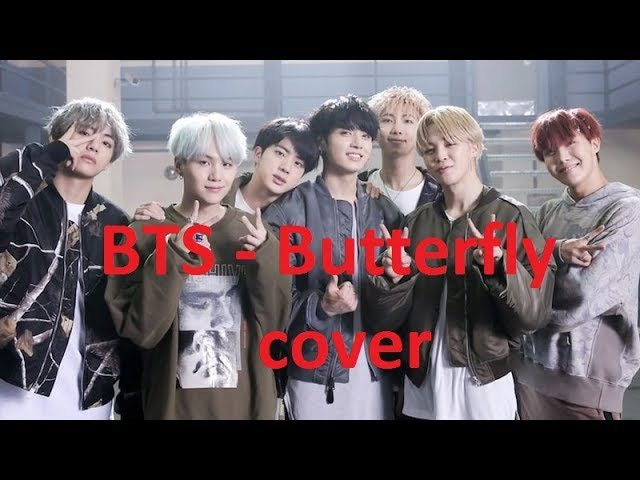 BTS - Butterfly cover