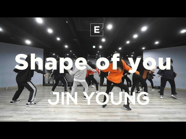JIN YOUNG | GIRLISH CLASS |J.Fla - Shape of you | E DANCE STUDIO | 걸리쉬안무