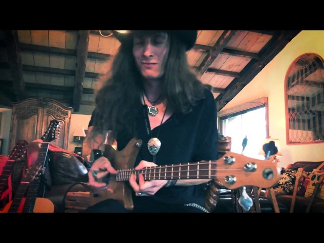 HILL COUNTRY BLUES 3-STRING BASS SOLO | Baby Please Don't Go