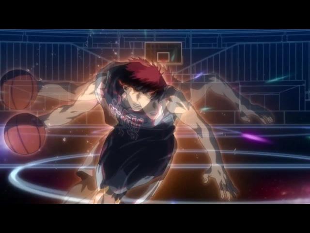 Kagami VS Rakuzan Kuroko no Basket