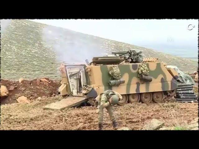 Afrin operasyonu... Şehitlerimiz için Kırsal alanda