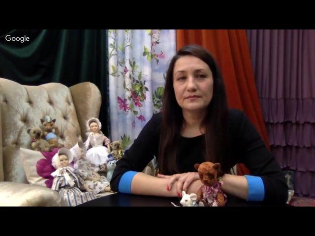 Татьяна Броницкая - Ватная игрушка Снеговик