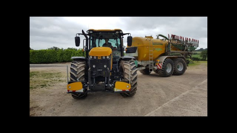 VERY FAST JCB Fastrac 4220 DRIVE BY Zunhammer AGRIbumper, Tractorbumper, frontweight, frontgewicht