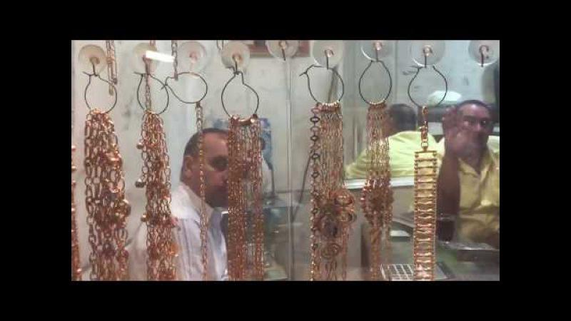 КАИР. Рынок Хан эль-Халили, ЗОЛОТЫЕ ЛАВКИ.Египет