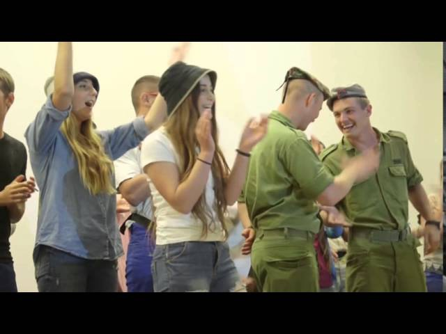 Israeli army immigrants Israeli female soldiers in IDF Israel Defense Forces dancing