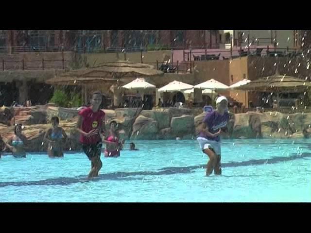 Faraana Heights Resort Шарм Эль Шейх Танцы на воде