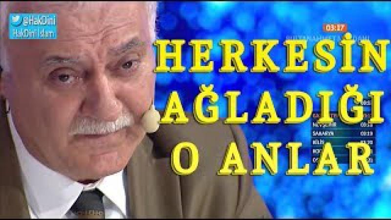 Nihat Hatipoğlu - Uzun Uzun Ağladı! İşte Gözyaşlarına Sebep Olan AŞK