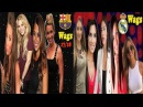 Real Madrid WAGs VS Barcelona WAGs 2017/18 - Which Team Wags more Beautiful?