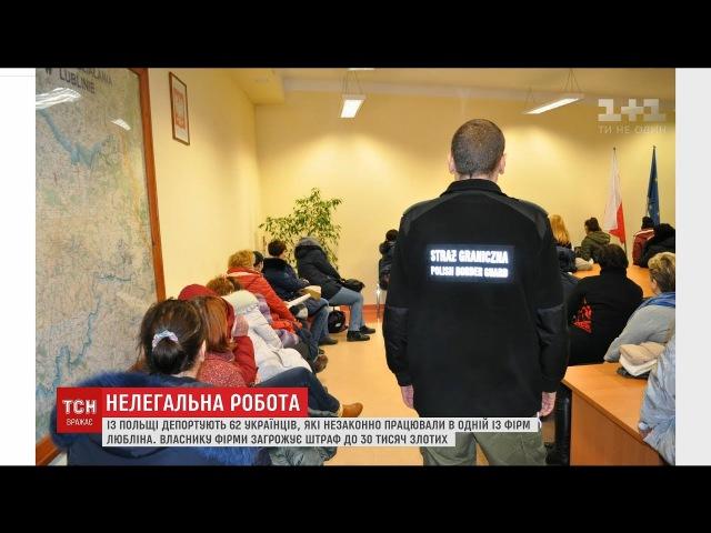 Польські прикордонники затримали 62 українців, які без дозволів працювали у Любл...