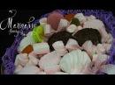 Флористика Букет из Зефира и Маршмэллоу Мастер класс Bouquet of marshmallows