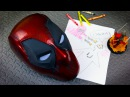 Deadpool Mask with Magnetic Eyes How to 3D Print and Assemble
