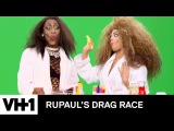 BTS of Nina & Valentina's Makeup Tutorial Gone Wrong BONUS Clip | RuPaul's Drag Race Season 9 | VH1