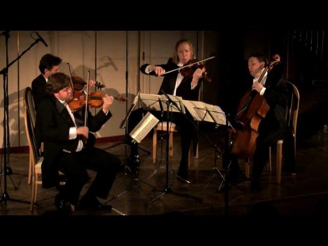 David Oistrakh Quartet plays Tchaikovsky string quartet 3 Op.30 1/4