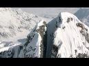 Это самый безумный и опасный съезд с горы на лыжах