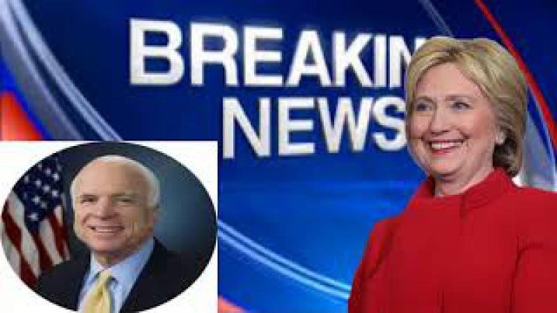 Law Enforcement Moves On John McCain For Handling Dossier
