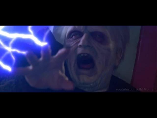 Мейс Винду против Палпатина (Дарта Сидиуса). Переход Энакина Скайуокера на тёмную сторону.