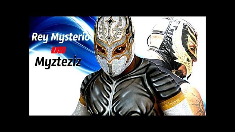 Sin Cara (AAA Myzteziz) Vs Rey Mysterio (Jr) Razor Sharp HD