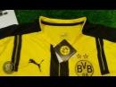 Видео обзор футбольной формы Borussia Dortmund Боруссия 16 17 сезон домашняя