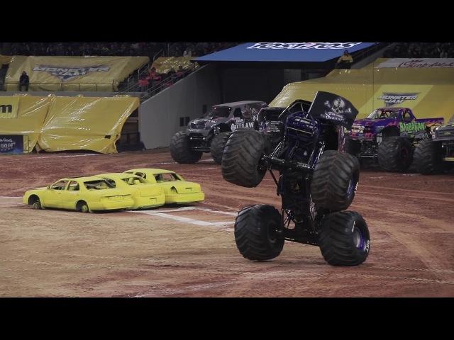 Monster Jam Arlington Highlights - Stadium Championship Series 4 - Feb 10, 2018