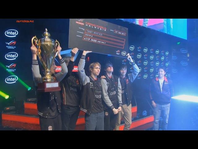 Team Empire champion 3:2 vs OpTic 🏆 ASUS ROG Masters 2017 champions Grand Final CyberWins