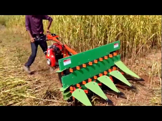 Мини комбайны. Новое сельское хозяйство. Часть 2. Mini harvesters. New agriculture. Part 2.