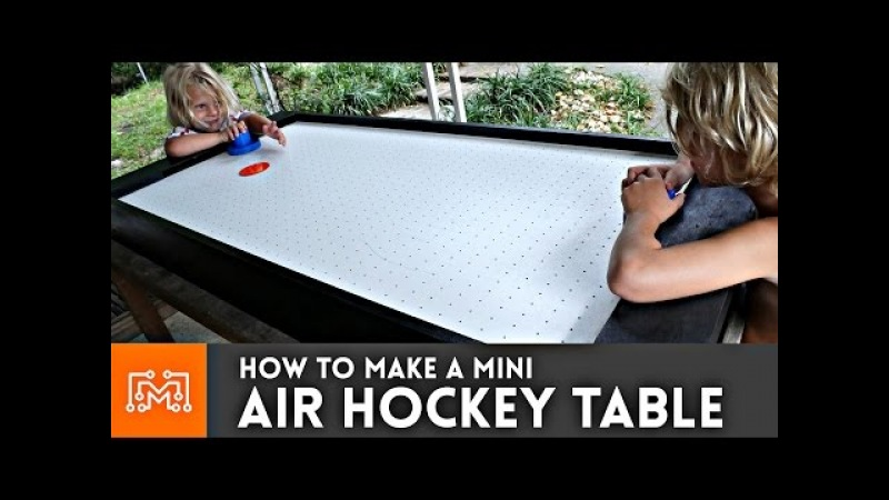 Mini Air Hockey Table How-To