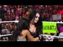 AJ Lee hugging Paige
