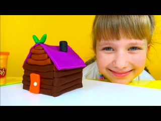 Лучшие видео youtube на сайте    main-host.ru      Play Doh Log Cabin House Baba-Yaga Плей До Пластилин Лепим домик Бабки Ёжки