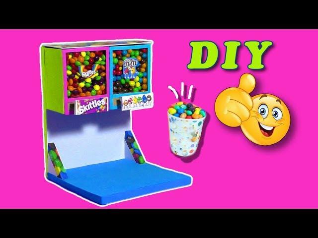 DIY Как сделать Диспенсер для конфет своими руками Hand made